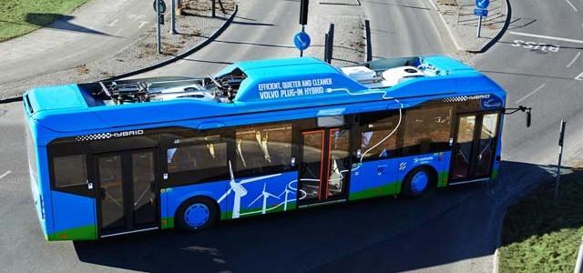 Volvo y ABB se unen para el desarrollo de una línea de autobuses eléctricos con recargas super rápidas