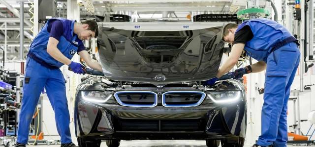 Primera llamada a revisión del BMW i8
