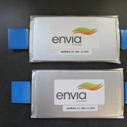 Envia Systems aún promete baterías de 400 Wh/kg