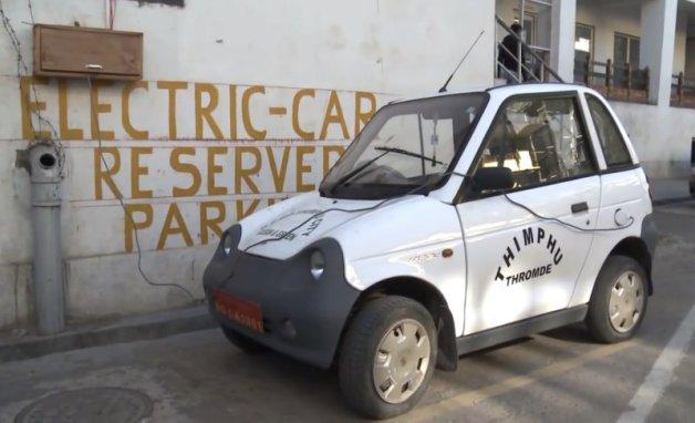 ev+parking+bhutan