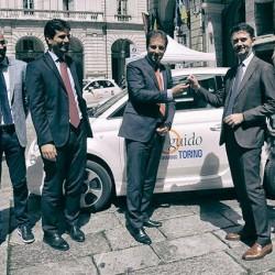 El FIAT 500e llega a Europa. De momento, sólo para el programa de car sharing de Turín