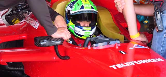 Una vuelta en un Fórmula E