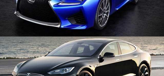 Lexus admite la pérdida de clientes por culpa del Tesla Model S