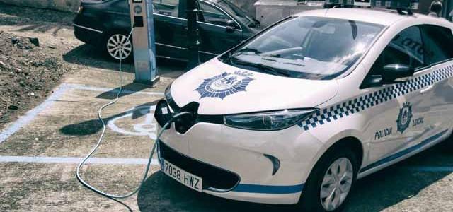 Un Renault ZOE para la policía de Haro