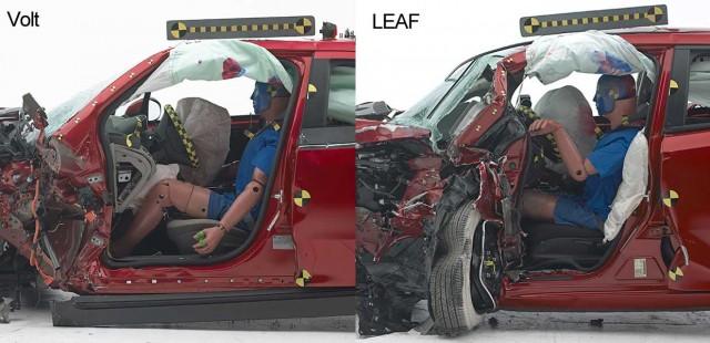 Comparativa entre el resultado del Volt y el LEAF