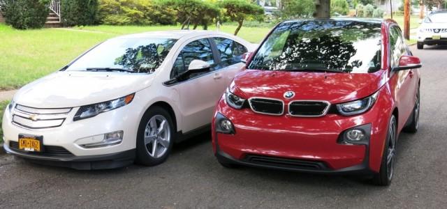 Comparativa: BMW i3 vs Chevrolet Volt