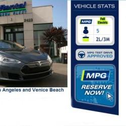 Si viajas a California, podrás alquilar un BMW i3 por 110 euros, y un Model S por 285 euros