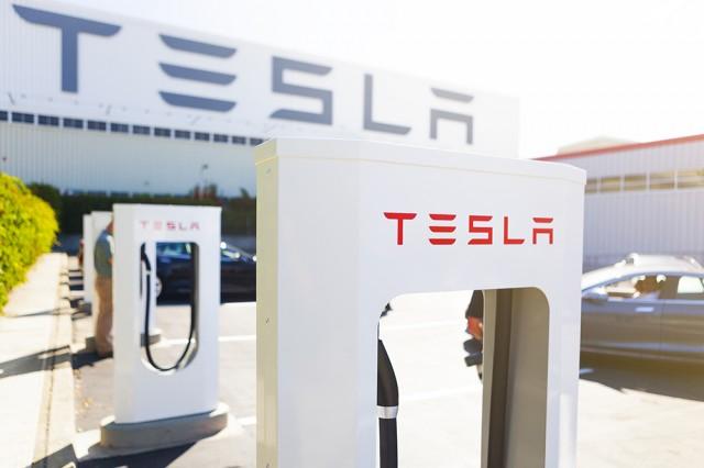 supercargador Tesla