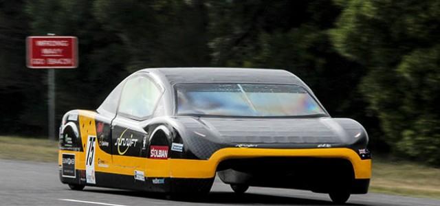La FIA certifica el récord del Sunswift. 500 kilómetros a 106 km/h