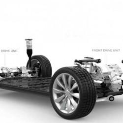 ¿Reducirá la tracción total la autonomía del Tesla Model X?
