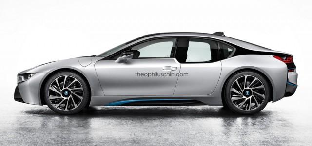 ¿Cómo sería un BMW i8 de cuatro puertas?