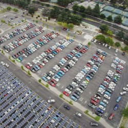 Nuevo récord en una concentración de coches eléctricos. Plug In America reune a 507 participantes