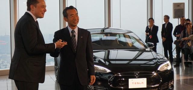 Tesla abre un nuevo frente en Japón. Primeras entregas del Model S