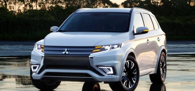Primeras imágenes del Mitsubishi Outlander PHEV Concept-S