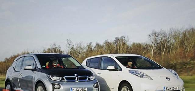 El BMW i3 a la caza del Nissan LEAF como coche eléctrico más vendido en Estados Unidos