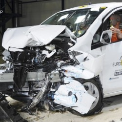 La Nissan e-NV200 logra tres estrellas en las pruebas de choque euroNCAP