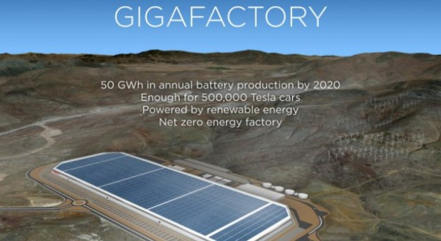 Más detalles de la gigafábrica de Tesla