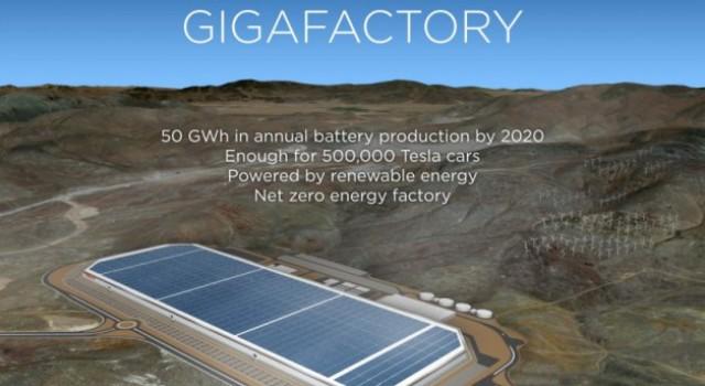 California se posiciona para albergar la segunda gigafábrica de baterías de Tesla