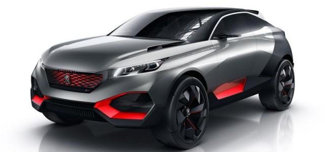 Peugeot Quartz. Otro prototipo híbrido enchufable para la colección