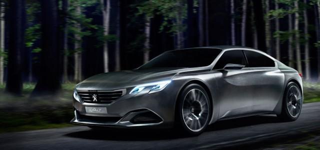 Peugeot Exalt. Un espectacular híbrido enchufable que será presentado en París