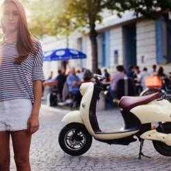 UNU. Un scooter eléctrico con batería extraible, y 100 kms de autonomía