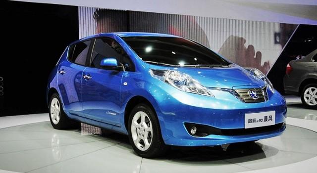 El Nissan LEAF comienza su producción y ventas el China