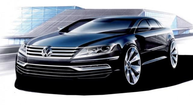 Un Volkswagen Phaeton híbrido enchufable para la nueva generación