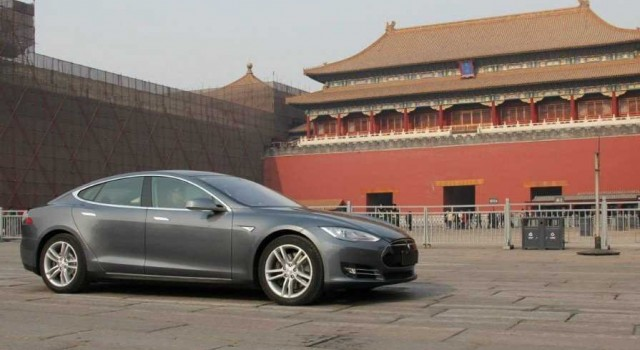 Las reservas del Tesla Model S en China a toda máquina