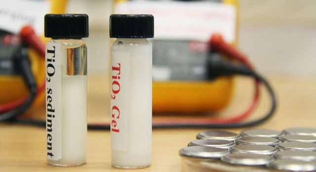 Baterías de óxido de titanio. ¿Recargas en dos minutos y vida útil de 20 años?