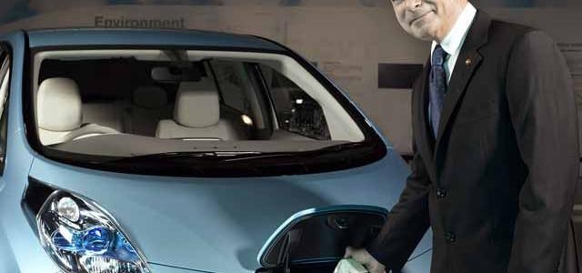 Para Carlos Ghosn, el mercado del coche eléctrico será masivo