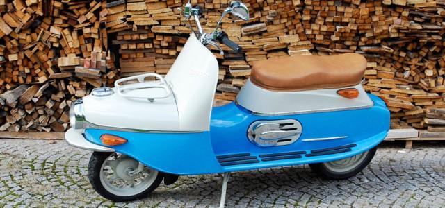 Cezeta Type 506. Un scooter eléctrico de lo más vintage