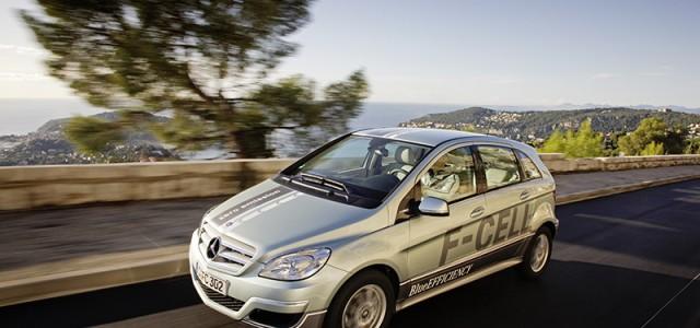 El Mercedes B-Class F-CELL alcanza los 300.000 kilómetros recorridos