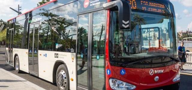 Barcelona pone en marcha sus nuevos autobuses eléctricos
