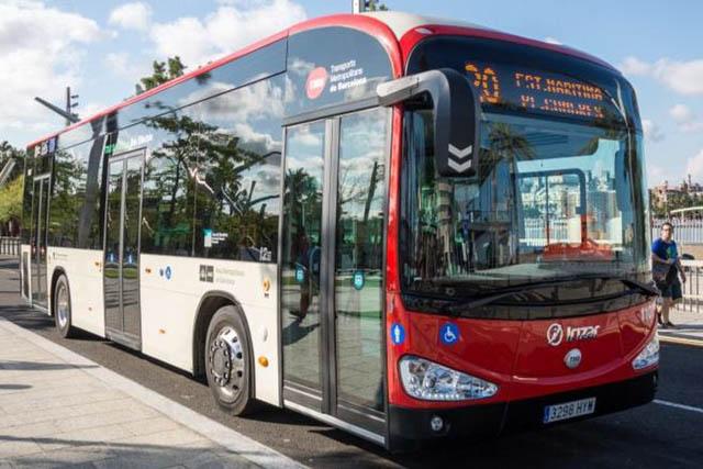 autobus electrico irizar barcelona