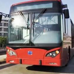 BYD prepara un autobús eléctrico de 18 metros