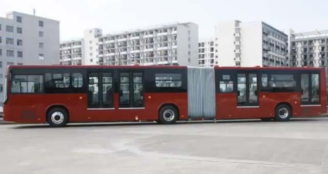 autobus eléctrico BYD 18 metros