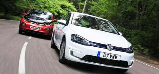 BMW i3 vs Volkswagen e-Golf