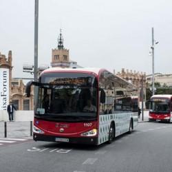 Un autobús eléctrico para Zaragoza. El Irizar i2e comienza una serie de pruebas