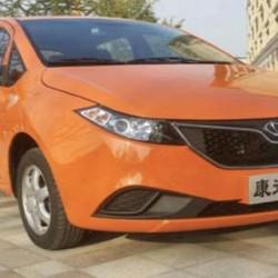 Kandi Cyclone. Un interesante coche eléctrico para China