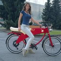 Lohner Stroller. Una bicicleta eléctrica con mucho estilo