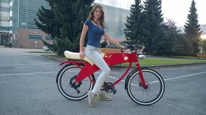 Lohner Stroller Una Bicicleta El 233 Ctrica Con Mucho Estilo