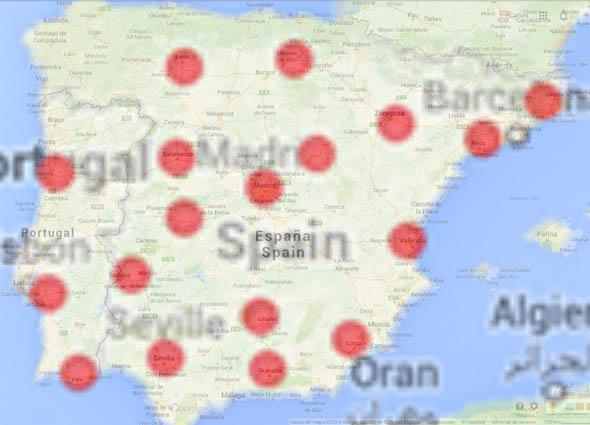 supercargadores-mapa-españa