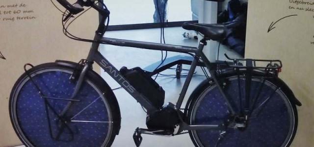 Solar Cycle. Una bicicleta eléctrica con paneles solares en las ruedas