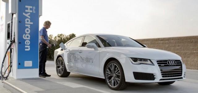 Audi A7 Sportback h-tron quattro. Un híbrido enchufable con pila de combustible de hidrógeno