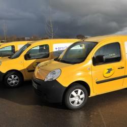 El servicio postal francés firma un acuerdo con Renault. 5.000 Kangoo ZE para su flota de reparto