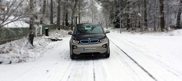 BMWi3winter