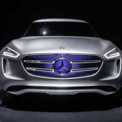 Mercedes Vision G-Code. Un enchufable vestido con paneles solares