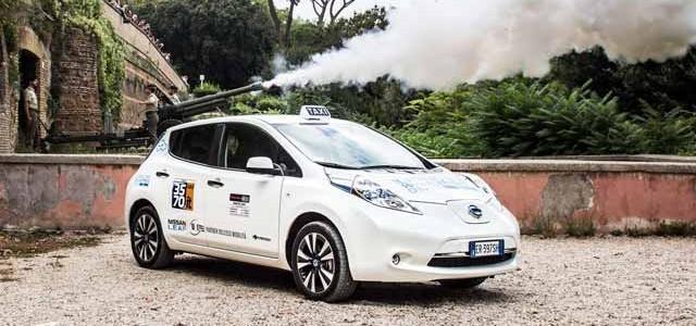 Roma se suma a las ciudades que apuestan por los taxis eléctricos