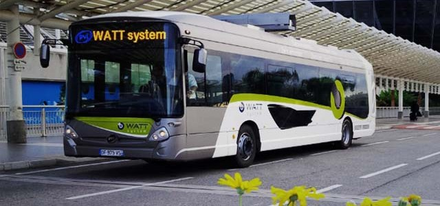 Watt System. Autobuses eléctricos con autonomía ilimitada