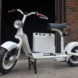 Fido. El scooter eléctrico elevado a su máxima simplicidad